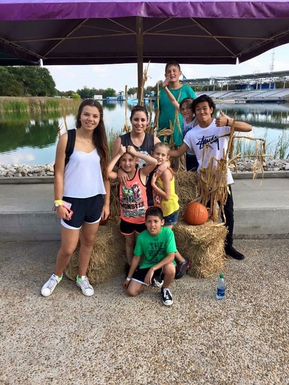 Ayusa host family on family trip