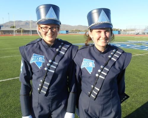 Ayusa exchange student starts program off joinging band