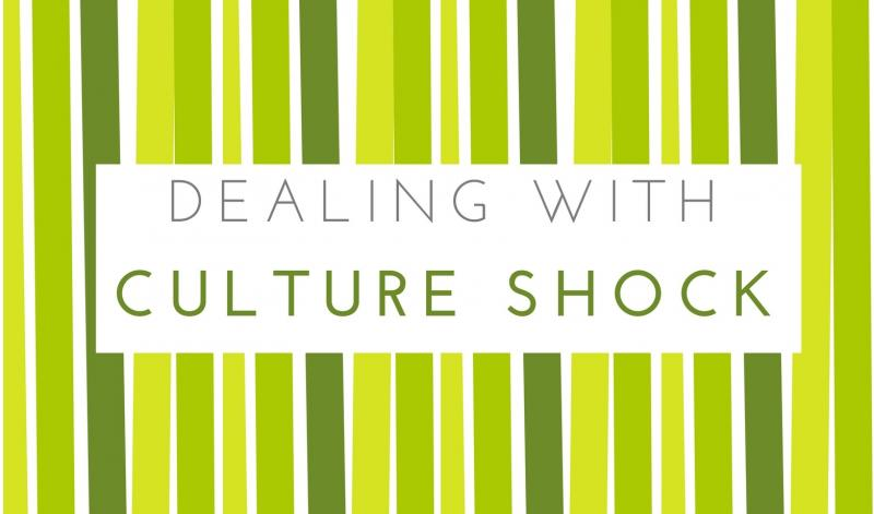 Dealing with Culture Shock