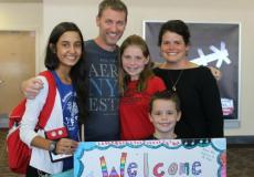 Ayusa host family welcomes international exchange student into their home