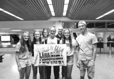 The Paskach family welcome Hannah Lamm to the U.S.
