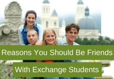 Reasons You Should Be Friends with Exchange Students